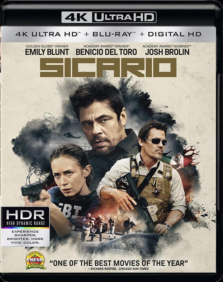 Sicario 2015   UltraHD 4K _ HDR  8.82GB
