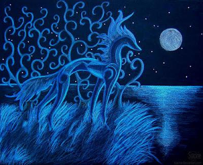 Pintura de un caballo
