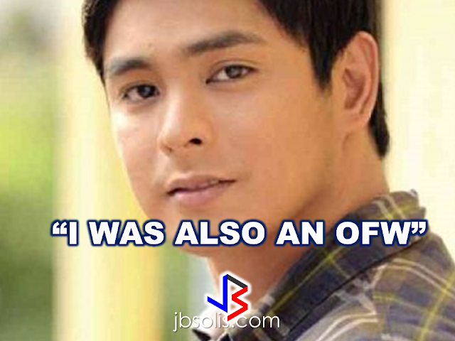 "Who would ever think that the actor who is being  idolized and fantasized by some people was a former cleaner in Canada?  Yes, the lead man of a hit TV show ""Ang Probinsyano"" was an OFW who worked abroad at one point in his life. ""I worked as a janitor in Canada for nine months. My father was also an OFW in Korea,"" says Coco Martin or Rodel Pacheco Nacianceno offscreen. He said  that being an OFW, he also experienced the real meaning of homesickness when he was in Canada.   As a former OFW who experienced the hardship of being such, Coco decided to give a free show in Saudi Arabia and it was there where he has chosen to help an  an OFW to come home and be with his family for Christmas.   Ferdinand Acapulco turn to scavenge garbage bin  for food to survive. Coco Martin, with the help of a local TV station in the Philippines, brought a new hope for him."