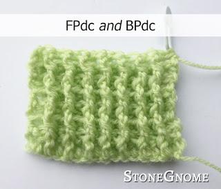Crochet rib - FPdc n BPdc