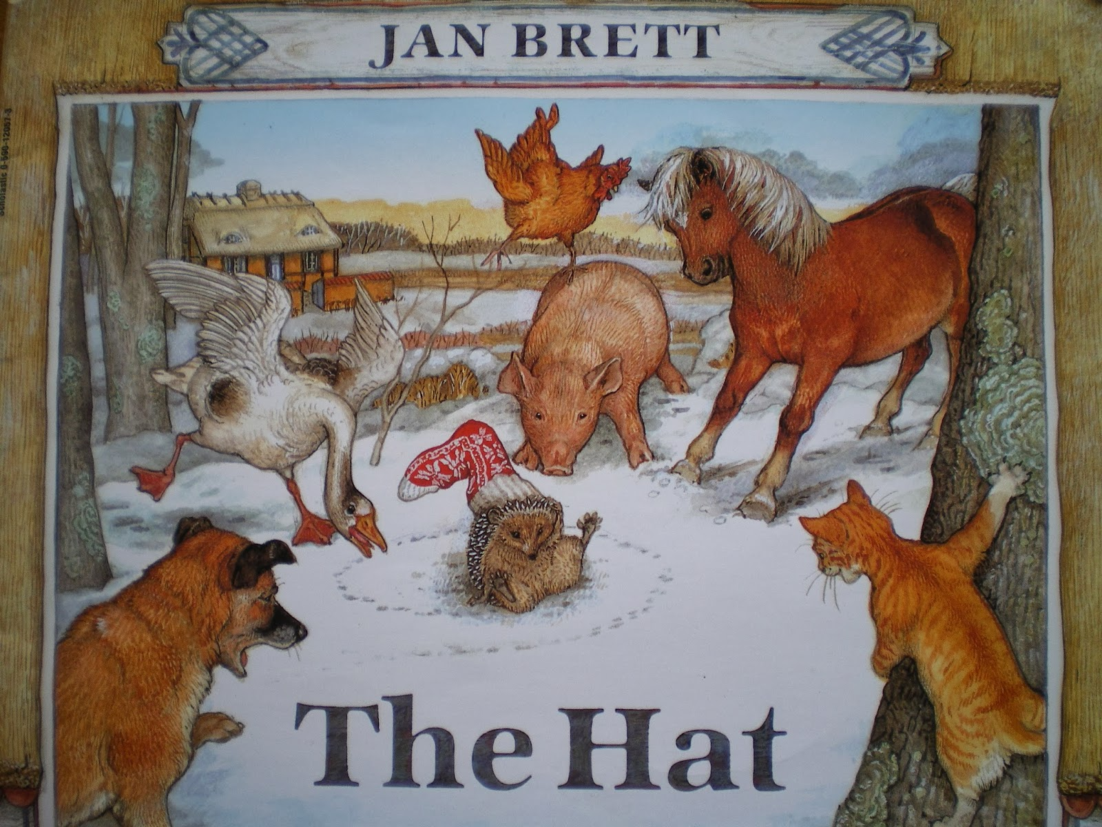 Language Arts Activities To Do with The Mitten by Jan Brett
