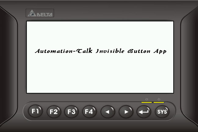 Invisible Button: Sample Screen