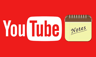 Cara Menambahkan Note (Catatan) ke Video Youtube