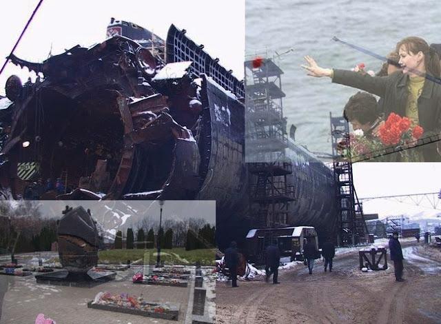 submarino kurk, naufrágio