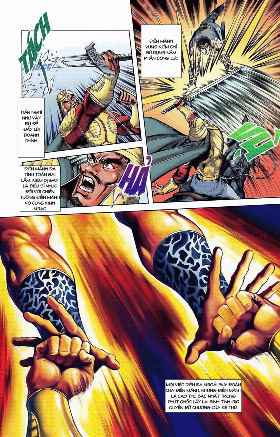 Tần Vương Doanh Chính chapter 9 trang 19