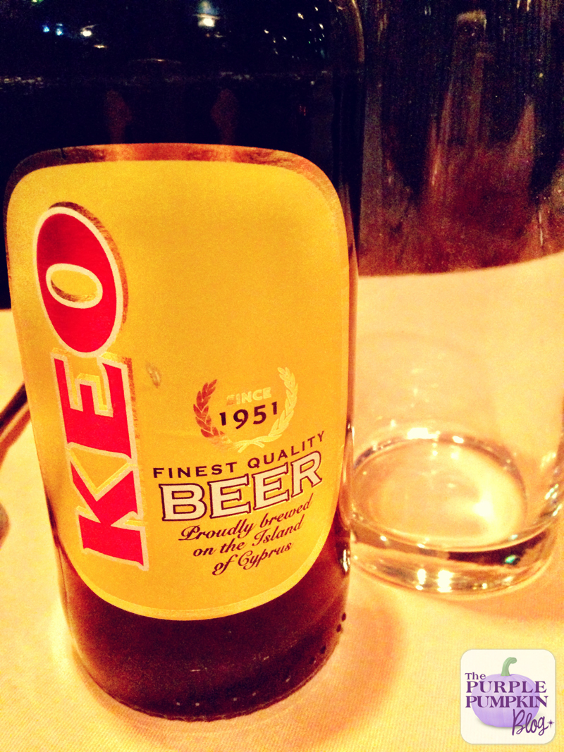Cyprus Keo Beer   How to Prepare a Greek-Cypriot Meze for Six at Home [A #Shop with Asda + #CollectiveBias]