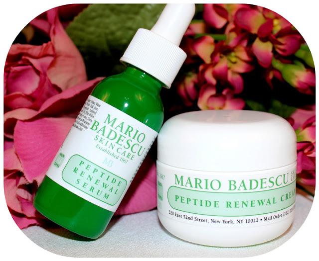 Mario Badescu Peptide Renewal Cream and Serum