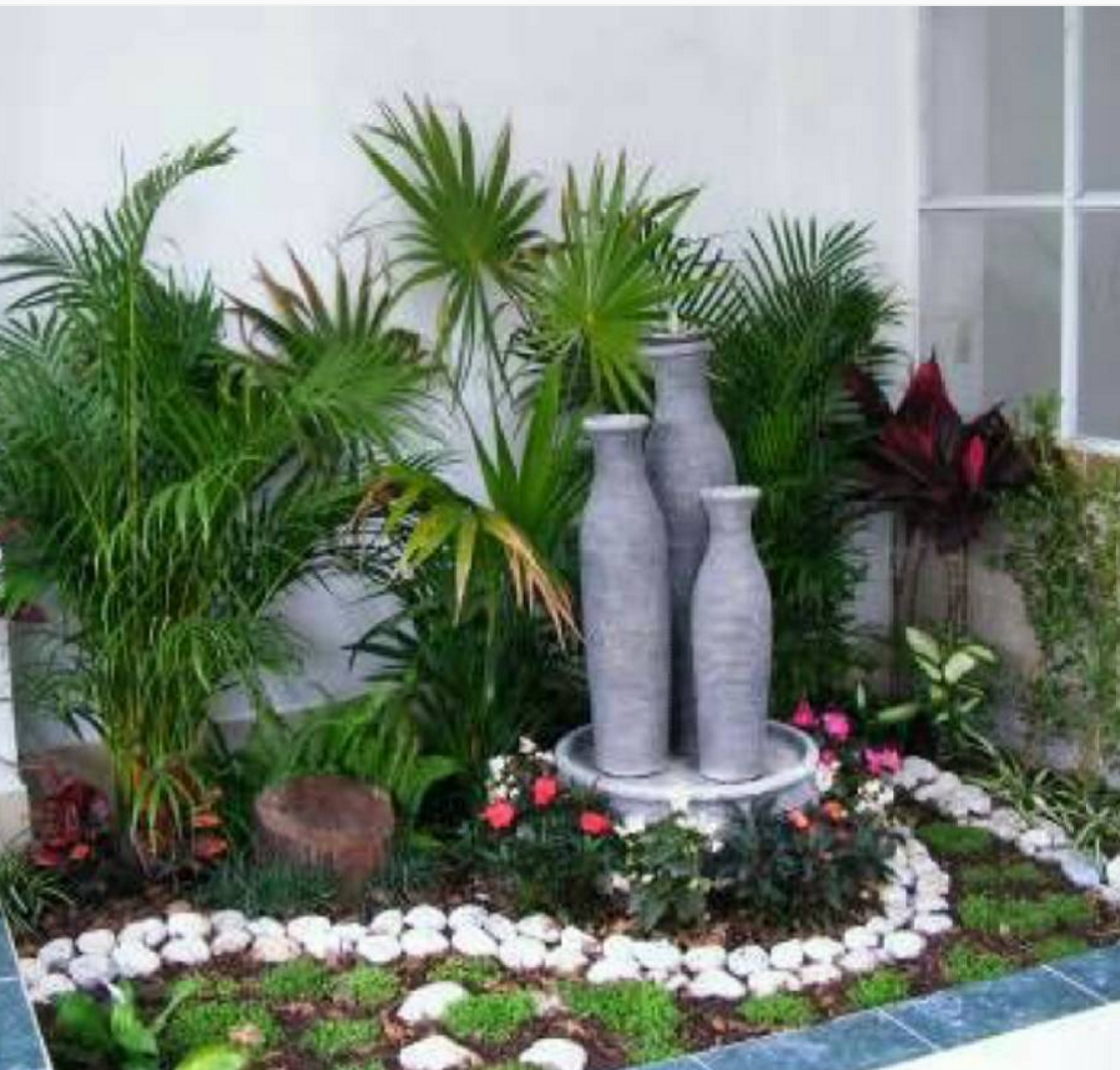 101 planos de casas paisajismo actual en espacios peque os for Jardin 7 colores bernal