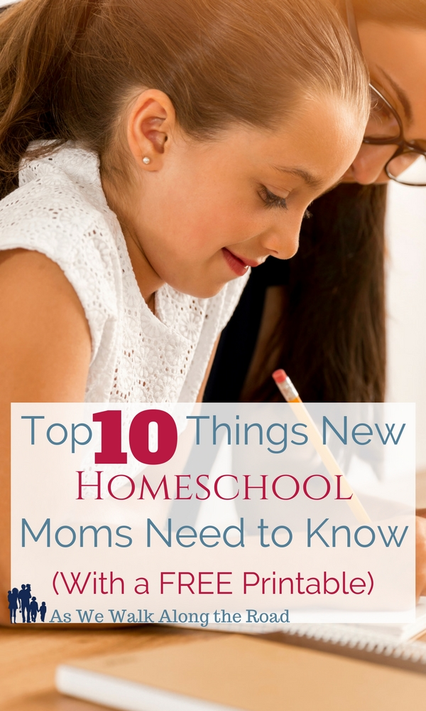 Ten things homeschool moms need to know