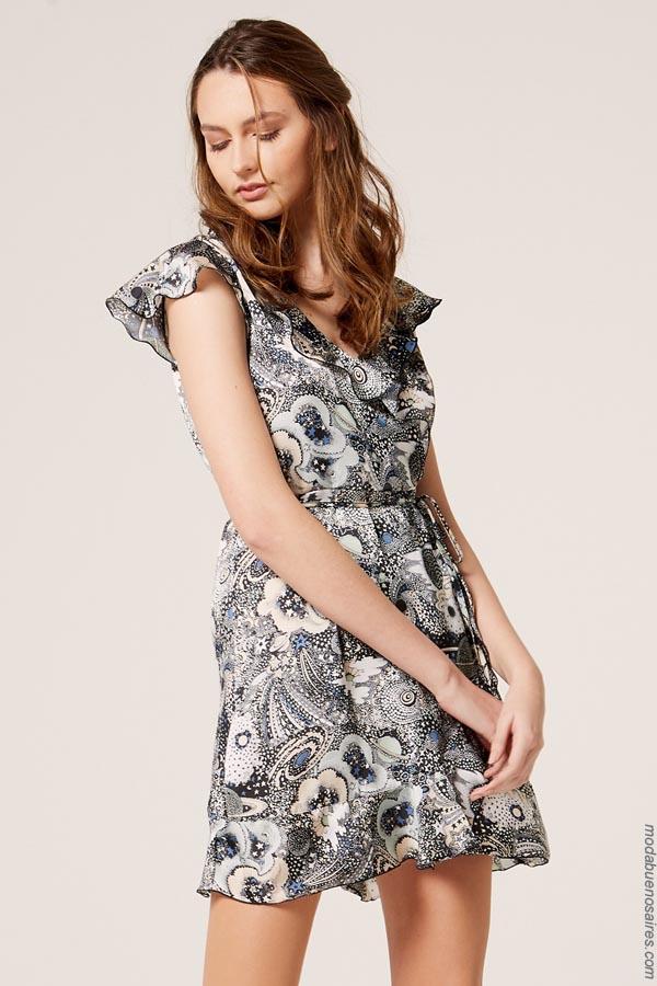 Moda 2019 │ Vestidos primavera verano 2019 │Materia colección vestidos primavera verano 2019. Ropa de mujer 2019.