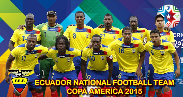 Ecuador Team Schedule and Live match Results at Copa America 2015