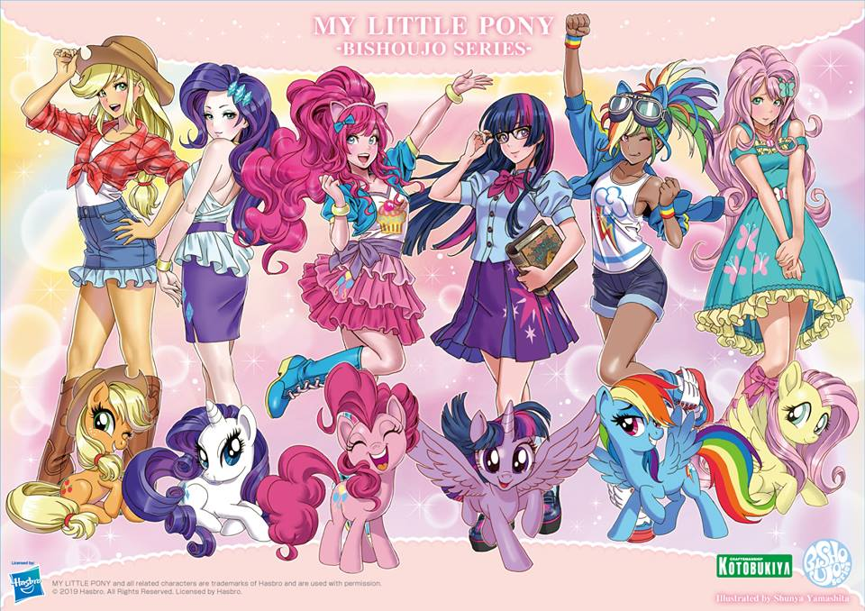 Kotobukiya Shows Finished Twilight Sparkle Satue + Concepts of all Mane 6  Characters | MLP Merch