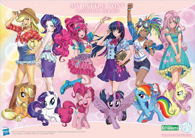 My Little Pony Bishoujo Statue Concept Art from Kotobukiya