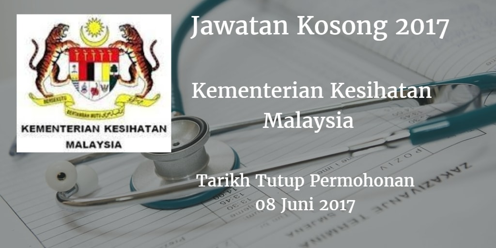 Jawatan Kosong KKM 08 Juni 2017