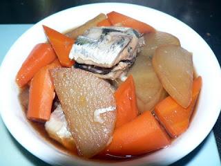 イワシの生姜煮