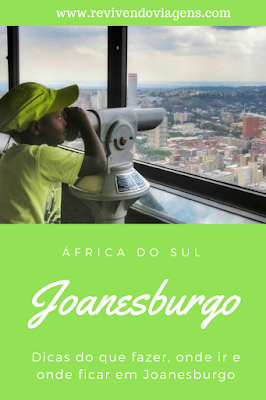 o que fazer em joanesburgo