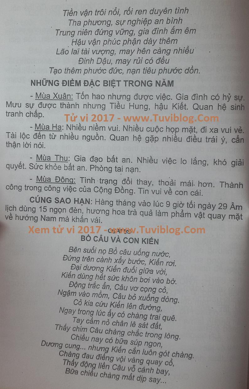 Xem tu vi Ky Suu 1949 nam 2017
