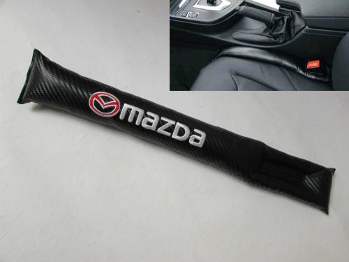 Car Seat Gap Mazda Carbon Fiber Hitam