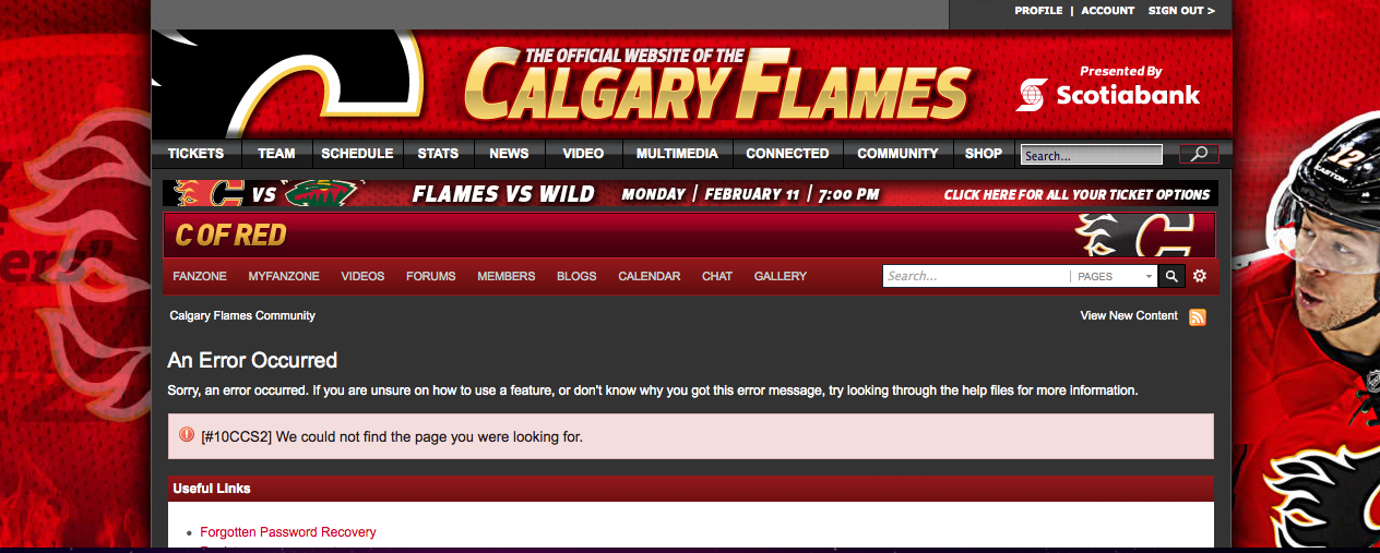 KNOW YOUR OPPONENT  CALGARY FLAMES 2.20.13  d22b162ed7d