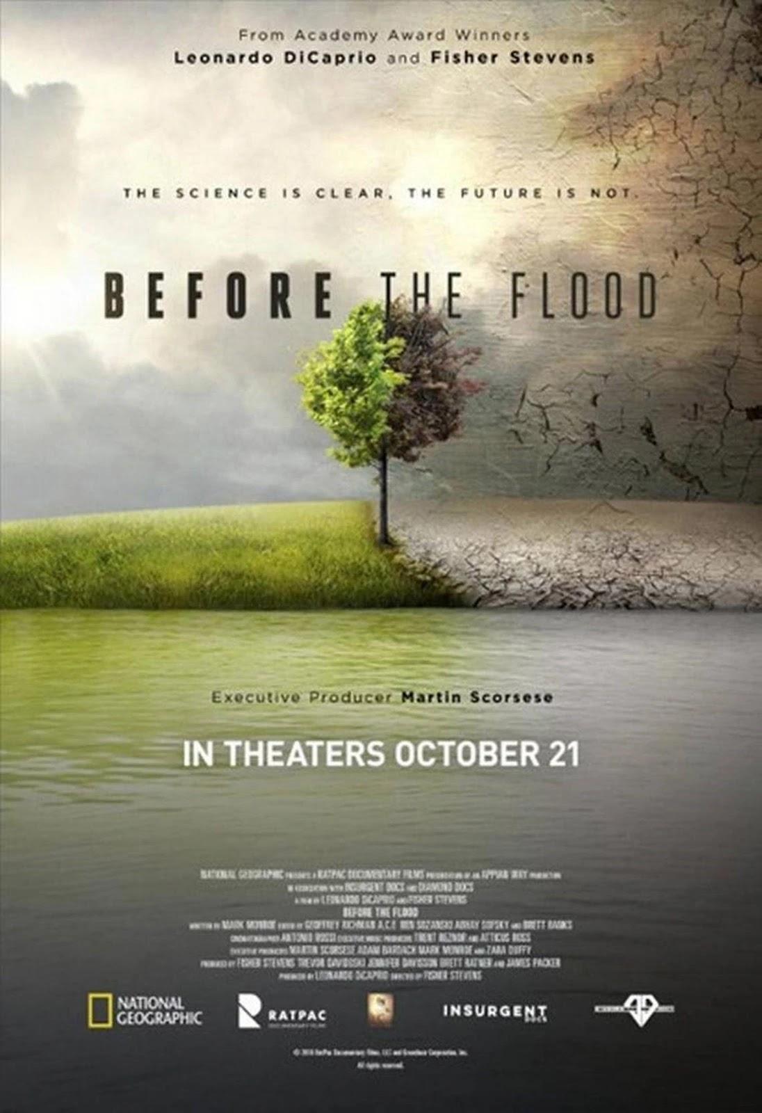 Before the Flood,洪水來臨前,洪水泛濫之前