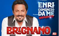 Logo Con RDS vinci gratis 24 coppie di biglietti per il Tour di Enrico Brignano