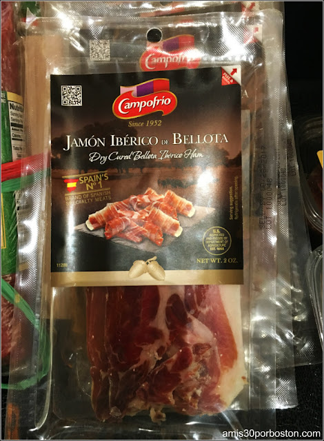 Jamón Ibérico de Bellota Español en el Wegmans a $19.99 en Enero 2017