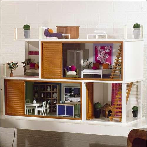Hopskoch: Doll House Headboard