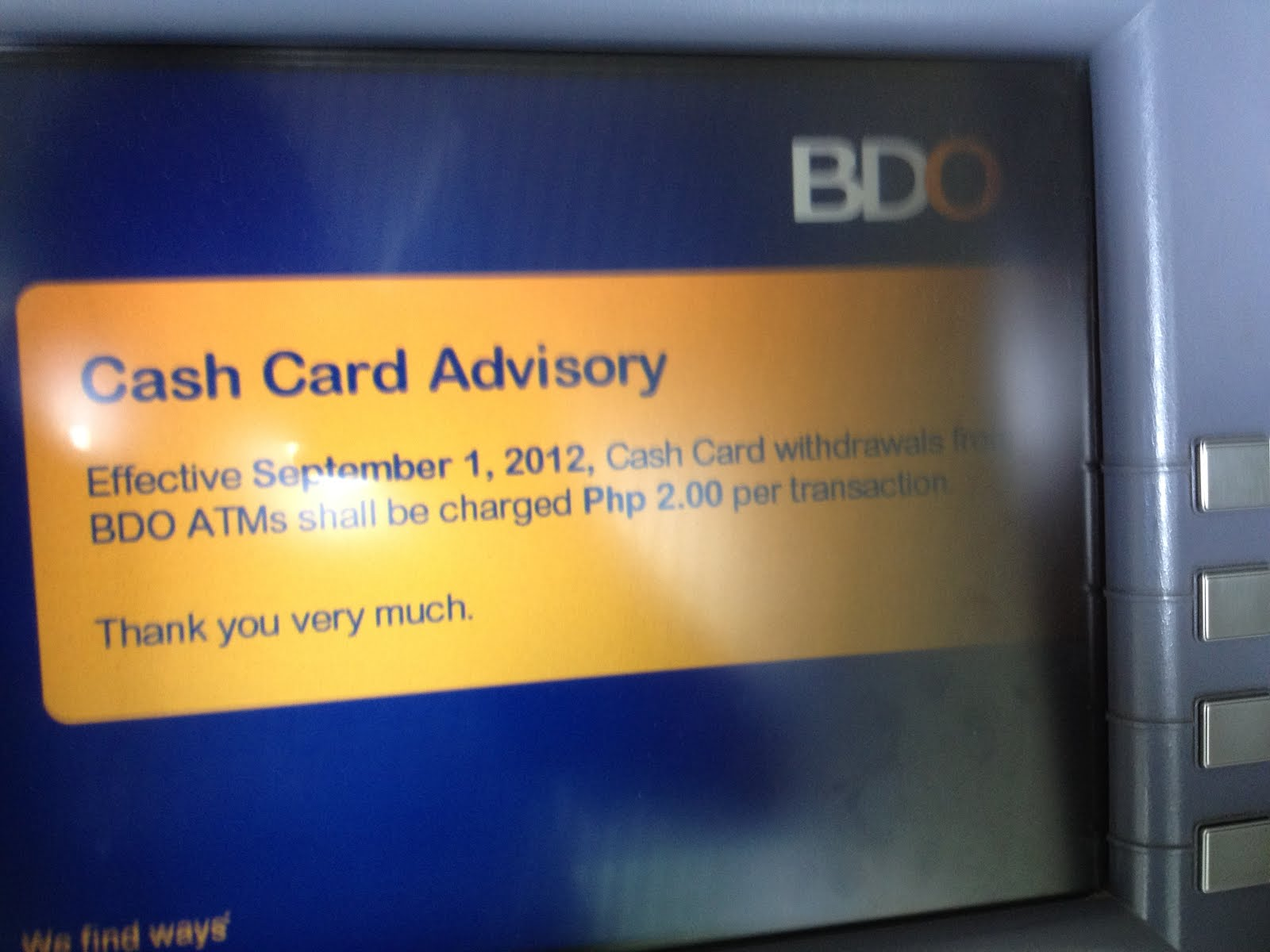 Bdo Cash Card Requirements For Students | Howtoviews.co