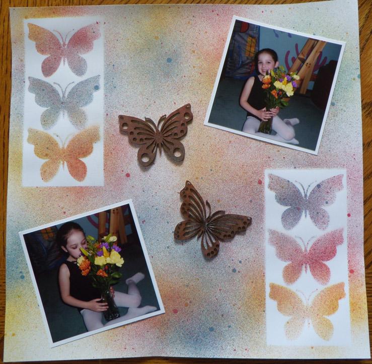 Melanie S Custom Creations Dusty Attic Laser Cuts