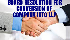 Board-Resolution-Conversion-Company-into-LLP