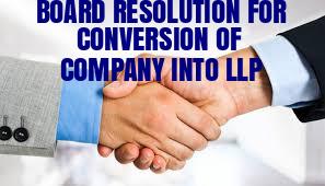 Board-Resolution-Conversion-Company-into-LLP