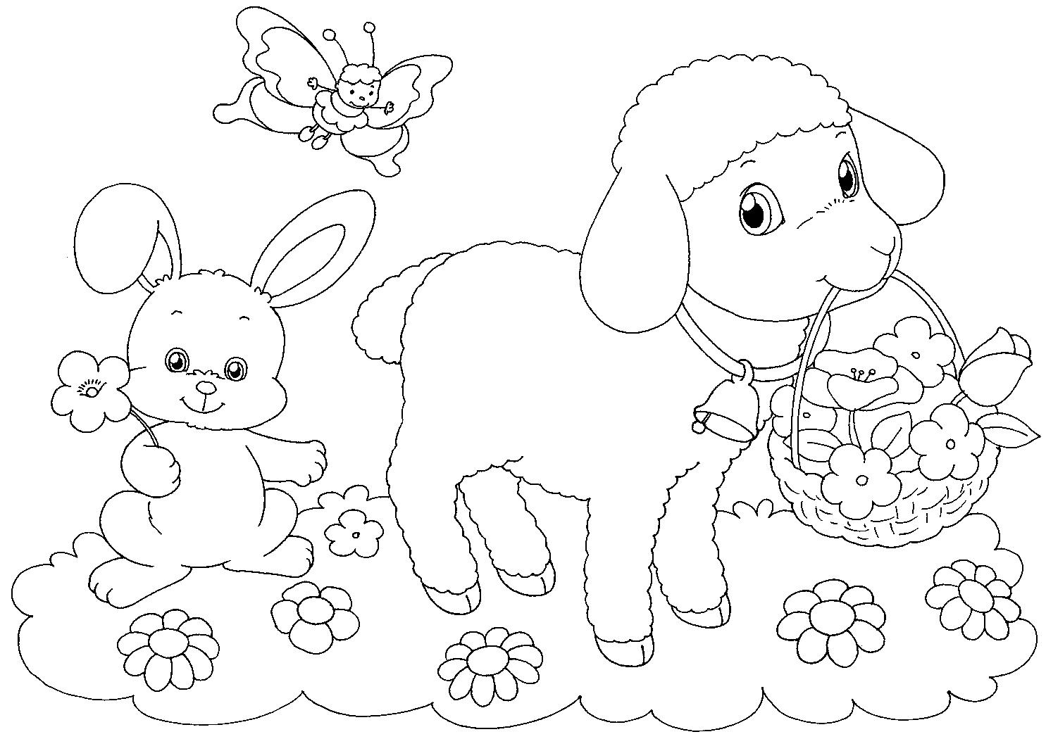 Actividades Para Colorear Preescolar Dibujos Para Colorear