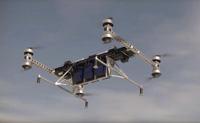 A prototype drone