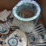 В Азове археологи нашли сервиз аристократа XIV века