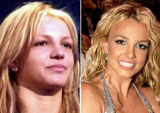 Britney Spears Tanpa Make Up