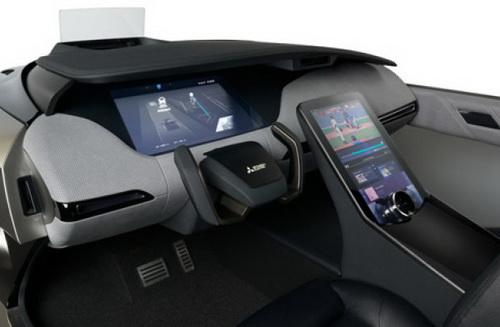 Tinuku.com Mitsubishi Electric unveils EMIRAI 4 concept car