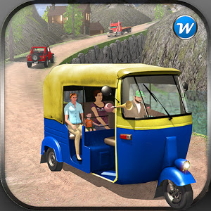 Off Road Tuk Tuk Auto Rickshaw Game for Android
