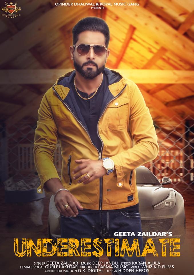 Underestimate Lyrics - Geeta Zaildar