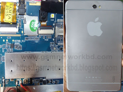 China Tab K0706B_V2 3 Firmware MT6572 Flash File Cm2 Read