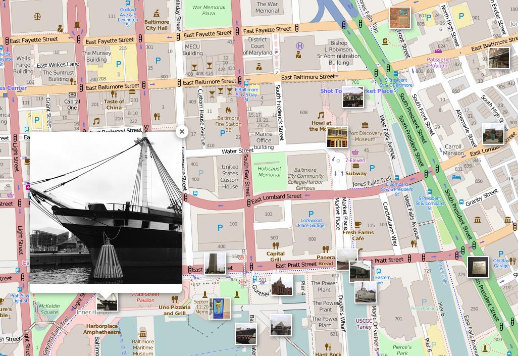 An Interactive Map Of Instagram Photos
