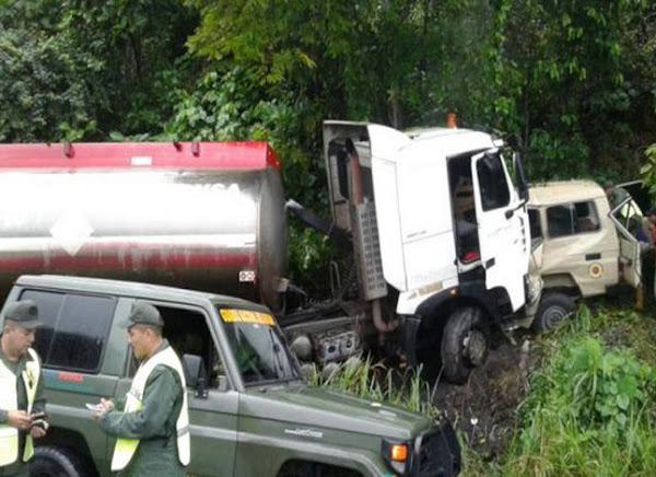 6 militares muertos en accidente en el Táchira