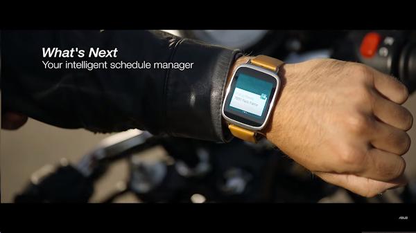 圖說:ASUS 2014年9月 發佈的 ZenWatch 廣告,數位時代翻攝