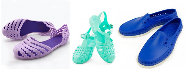 Plastic or Jelly shoes