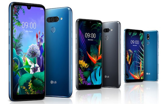 LG unveils three mid-range smartphones: the Q60, the K50 and the K40