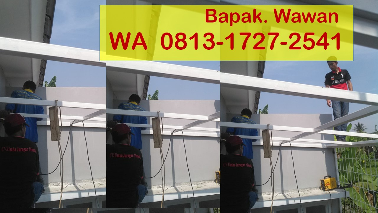 Harga Baja Ringan Murah Di Tangerang Meyga Karya Steel 0813 1727 2541 Kanopi