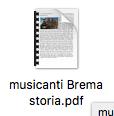 Favola musicanti di Brema
