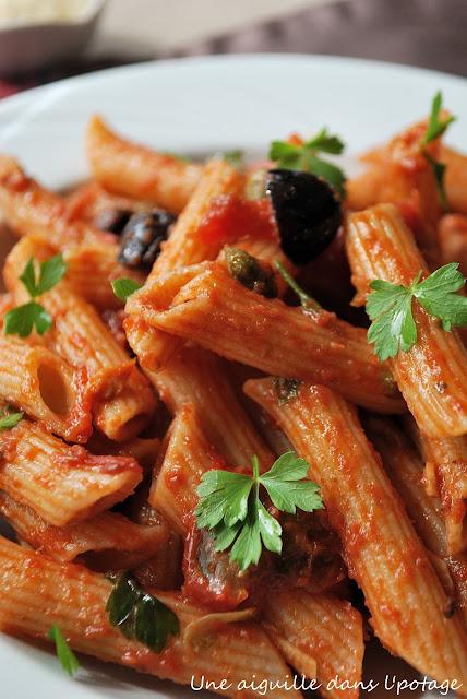 recette italienne pâtes napolitaines
