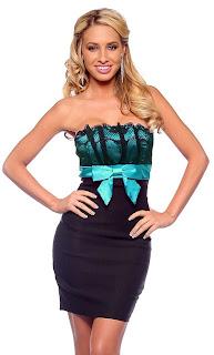 short lace party dresses