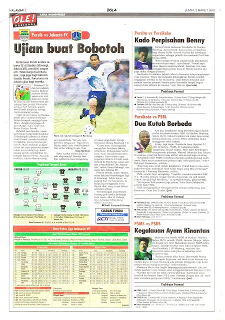 LIGA INDONESIA PERSIB VS JAKARTA FC