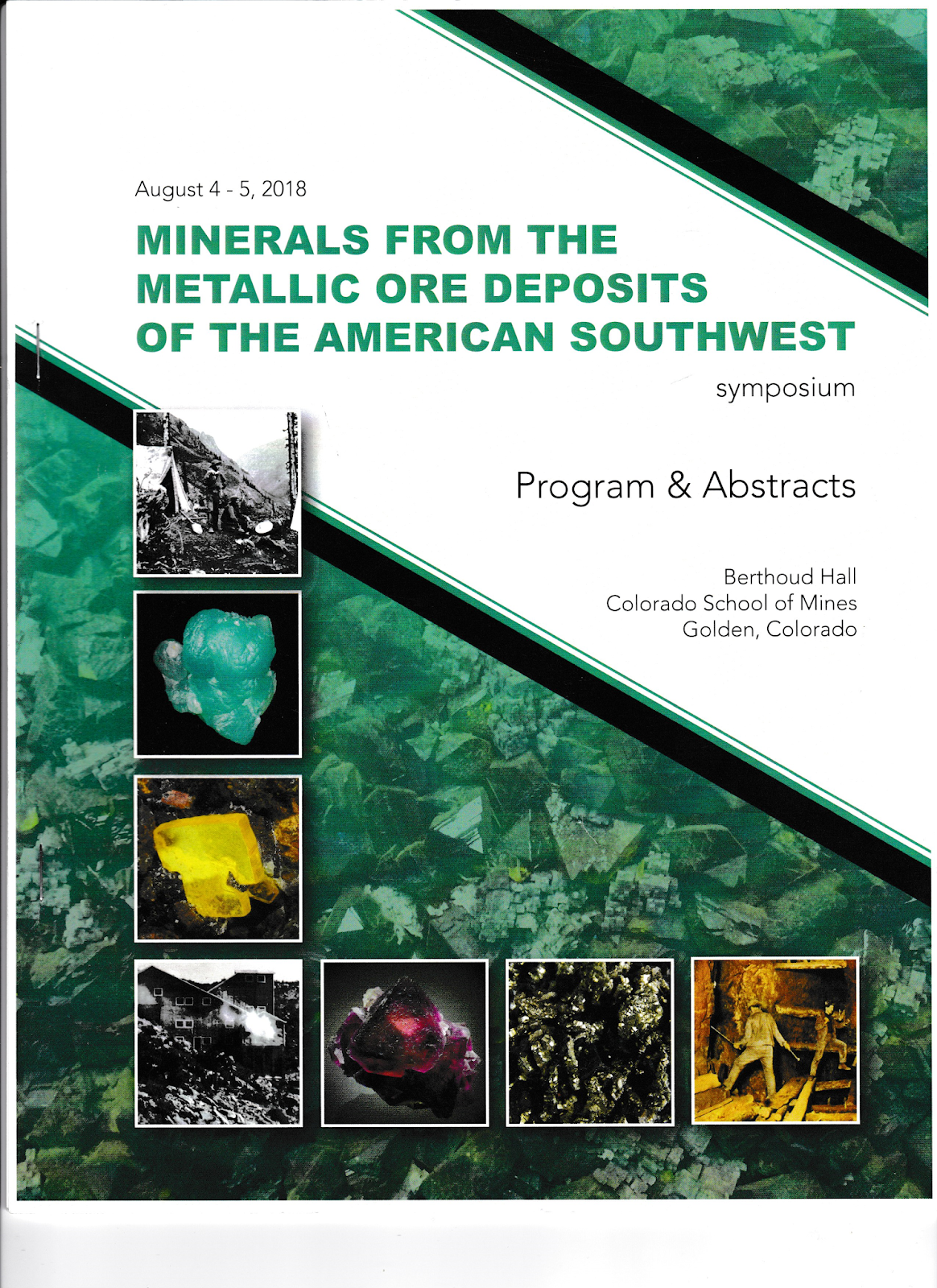 i recently had the opportunity to attend the annual symposium sponsored by the friends of mineralogy colorado chapter the colorado school of mines geology